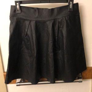 Charlotte Russe Metallic Miniskirt